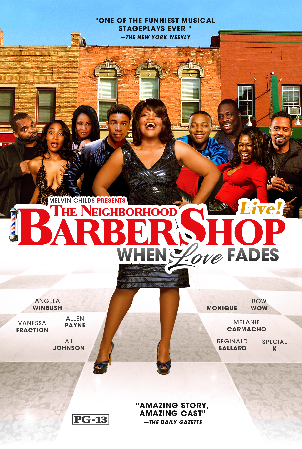 Barbershop Shop The Stage Play