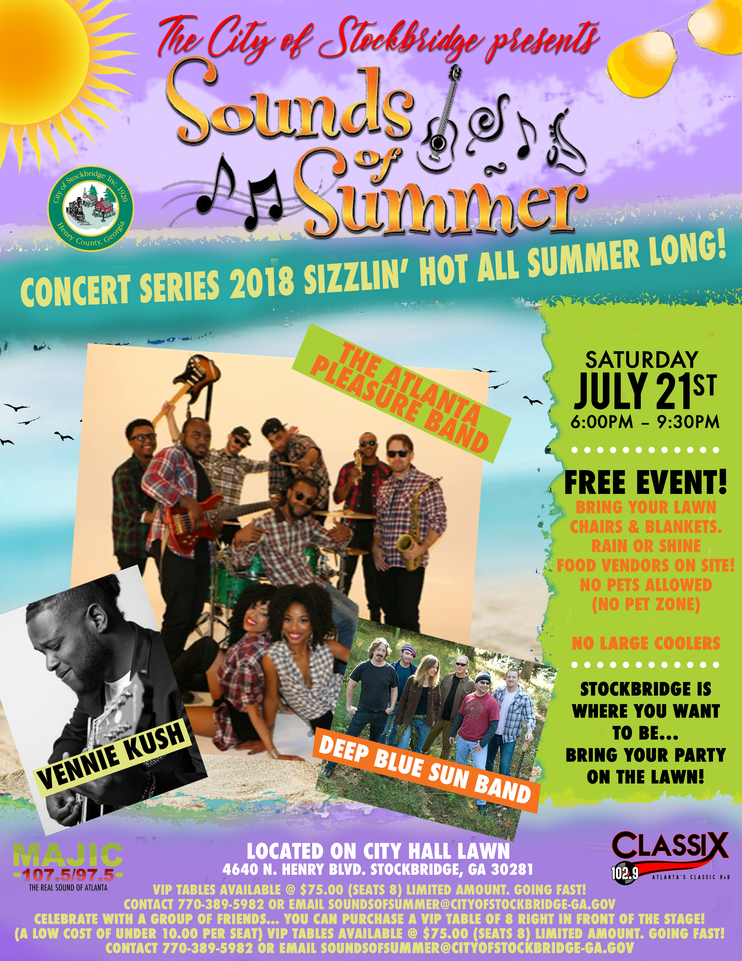 City of Stockbridge Sounds of Summer