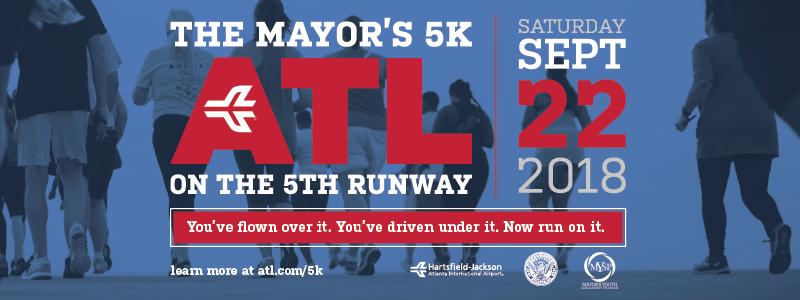 The Mayor's 5K ATL On The Runway
