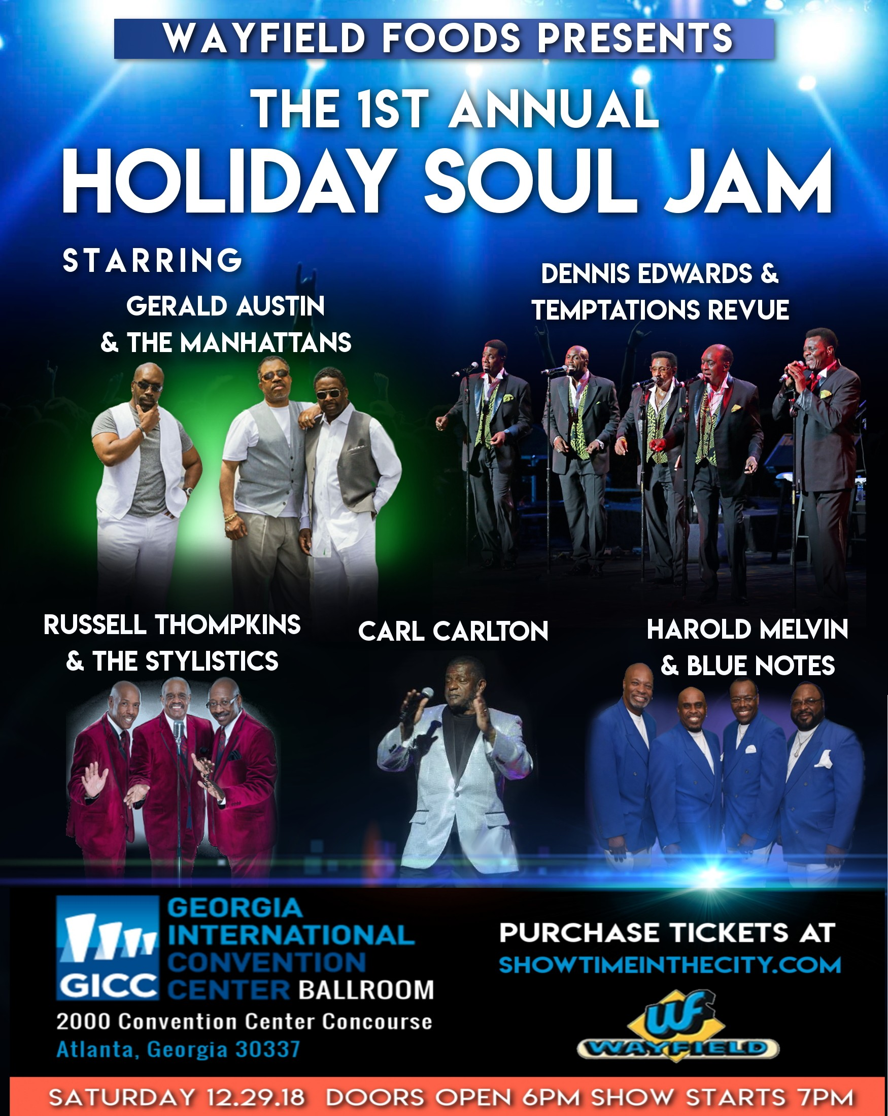 The First Annual Holiday Soul Jam
