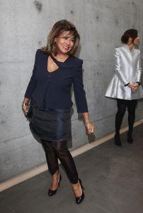 Giorgio Armani - Front Row: Milan Fashion Week Womenswear Autumn/Winter 2011
