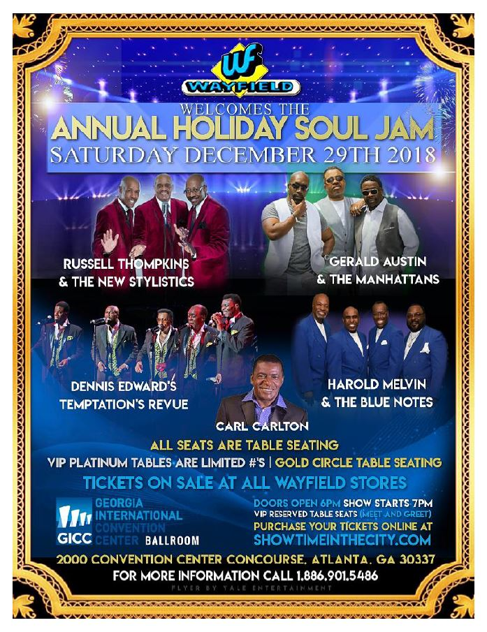 Annual Holiday Soul Jam
