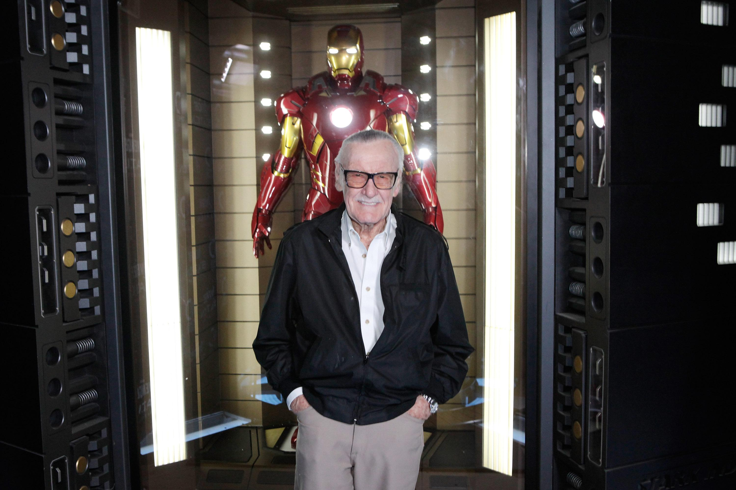 Stan Lee Welcomes Marvel's Avengers S.T.A.T.I.O.N. Exhibition at Discovery Times Square