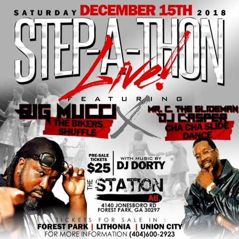 The Station ATL: Step-A-Thon Live