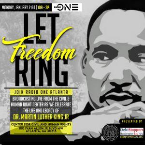 Radio One Atlanta MLK Broadcast