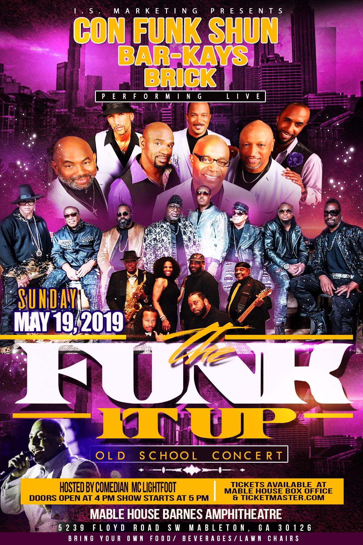 Funk It Up Concert