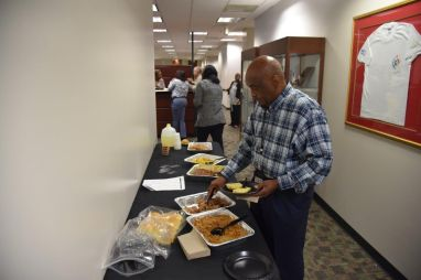 Shaw Shake Office Lunch Takeover w/ The Fulton County Sheriff's