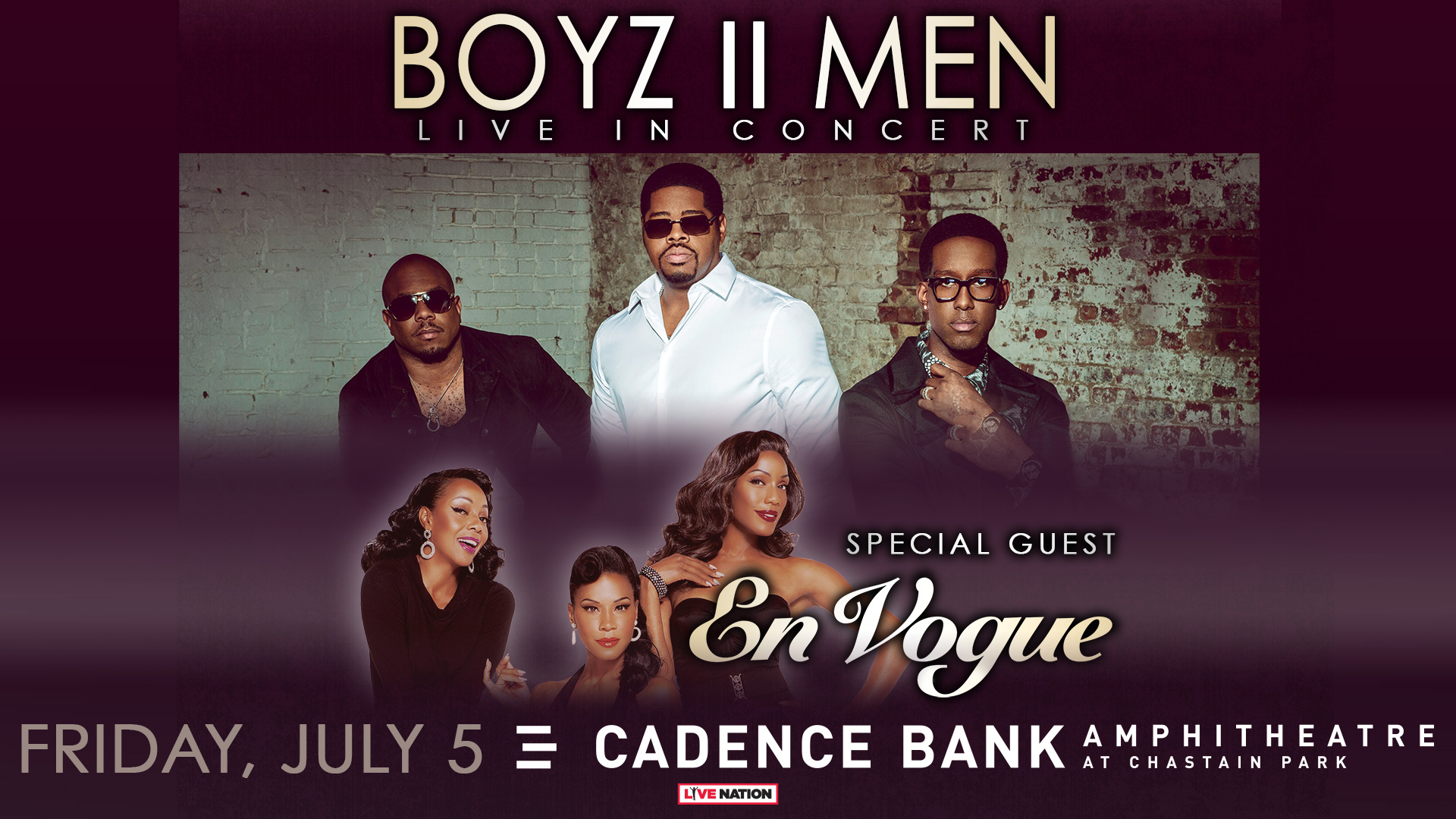 Boyz II Men & En Vogue