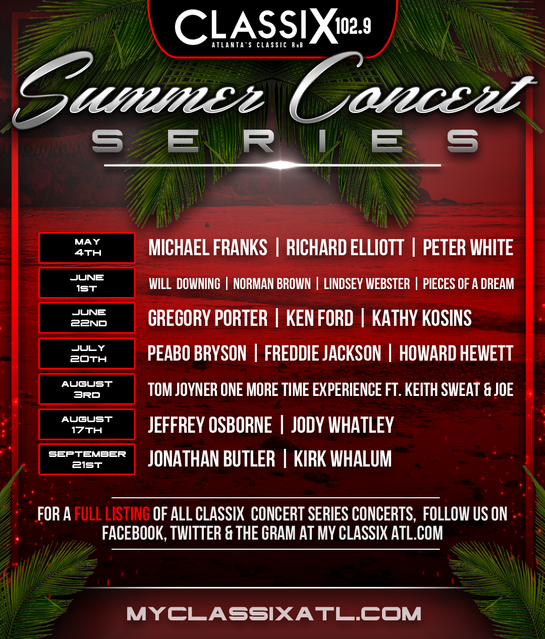Classix Summer Concert Series