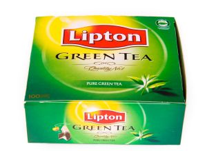 Most popular drinks: Lipton green tea is made from the...