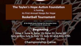 HOOPS FOR HOPE BASKETBALL TOURNAMENT