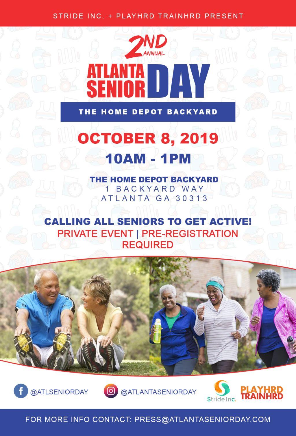 2nd Annual Atlanta Senior Day
