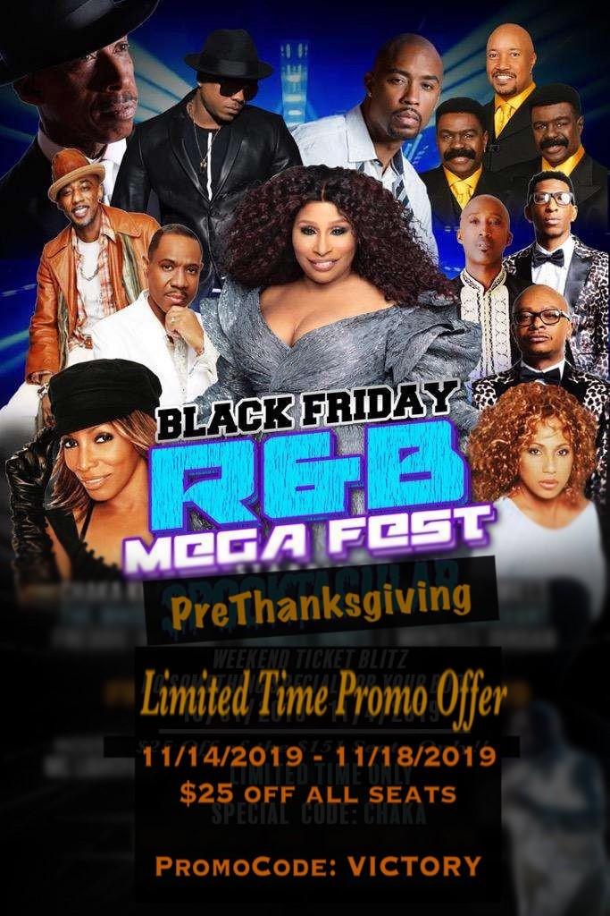 Black Friday R&B Mega Fest: PreThanksgiving Sale
