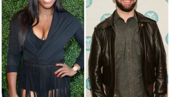 Serena Williams and Alexis Ohanian