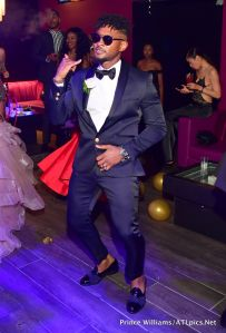Usher attends Party For producer Keith Thomas